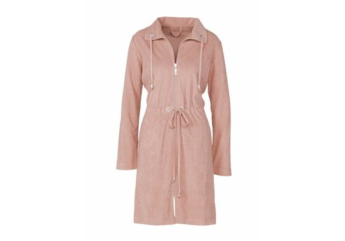 Vandyck VOGUE bathrobe Sepia Pink-144