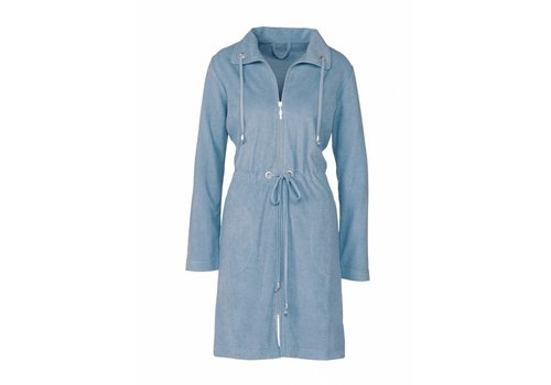 Vandyck VOGUE bathrobe China Blue-406
