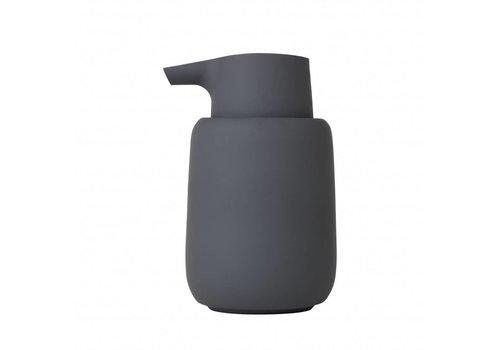 BLOMUS Zeepdoseerder SONO Magnet (donkergrijs)