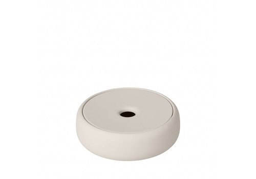 BLOMUS Storage box / soap dish SONO Moonbeam (light stone)