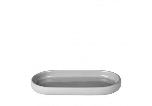 BLOMUS Tray / schaal SONO Micro Chip (lichtgrijs)