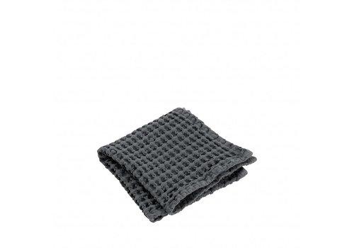 BLOMUS Guest håndklæde (sæt / 2) CARO 30x30 cm Magnet (mørk grå)