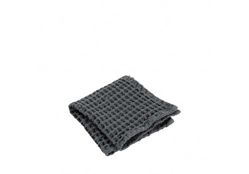 BLOMUS Guest towel (set / 2) CARO 30x30 cm Magnet (dark gray)