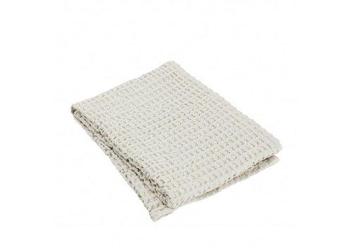 BLOMUS Handdoek CARO 50x100 cm Moonbeam (light stone)