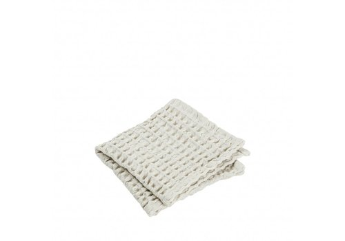 BLOMUS Guest towel (set / 2) CARO 30x30 cm Moonbeam (light stone)