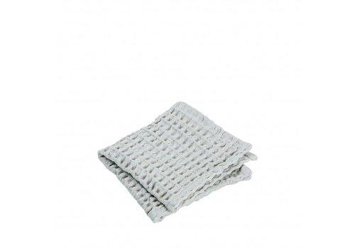 BLOMUS Gastendoek (set/2) CARO 30x30 cm Micro Chip (lichtgrijs)