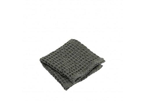 BLOMUS Håndklæde (sæt / 2) CARO 30x30 cm Agave Green (oliven grøn)