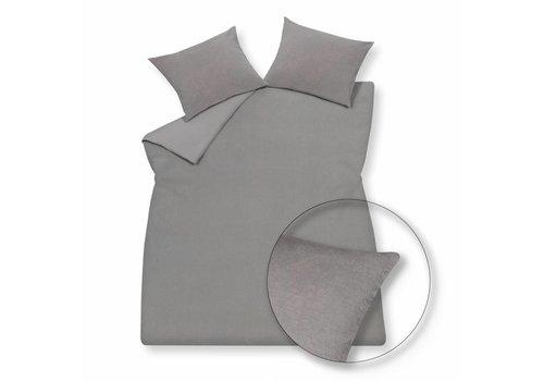 Vandyck Duvet cover PURITY 79 Gray 140 x 200/220 cm (linen)