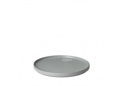 BLOMUS MIO flad plade 27 cm Mirage grå (sæt / 4)