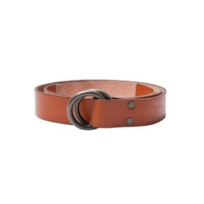 Dockers Ring-Ledergürtel Rot