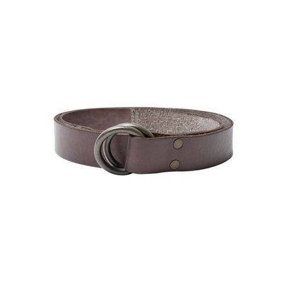 Dockers Ring-Ledergürtel Braun-Grau