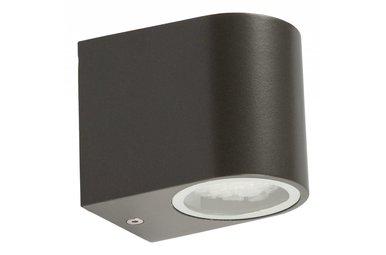 LED buitenwandlamp van roestvrijstaal
