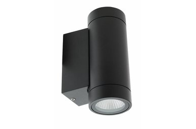 LED wandlamp rond outdoor antraciet