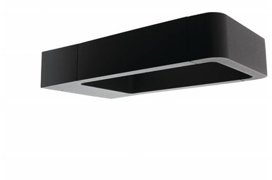 LED wandlamp vierkant klein outdoor antraciet