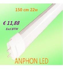 T8 LED tubes 150cm