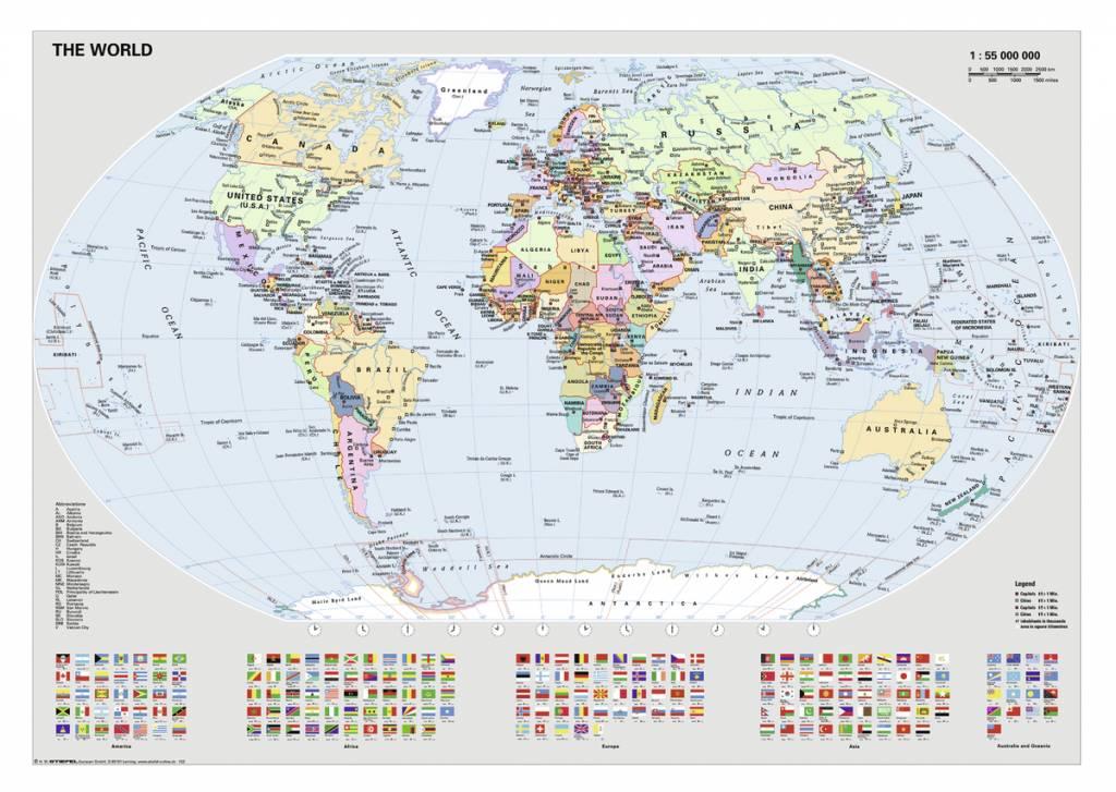 Ravensburger staatkundige wereldkaart 1000 stukjes puzzels123 staatkundige wereldkaart 1000 stukjes altavistaventures Images