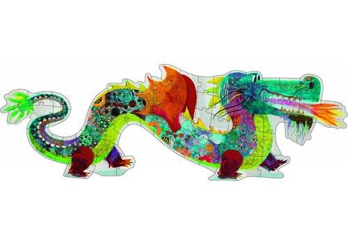 Djeco Leon de draak - 58 stukjes