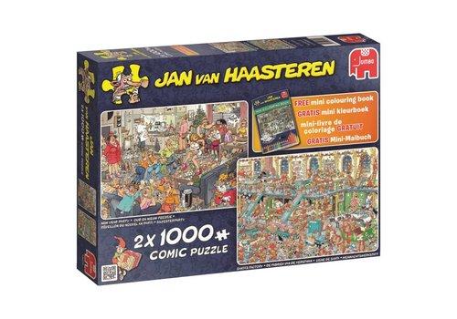 Jumbo Fijne feestdagen - JvH - 2 x 1000 stukjes