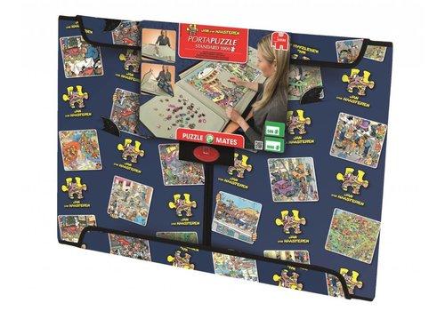 Jumbo Puzzelmap Jan van Haasteren - Portapuzzle