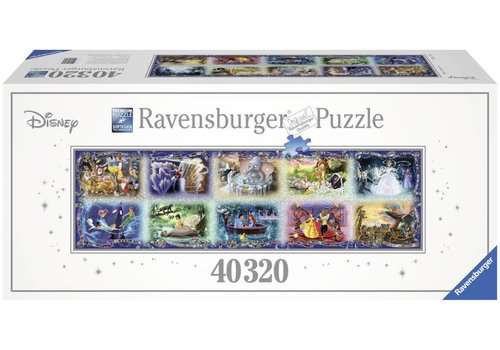 Ravensburger Grootste puzzel ter wereld: 40000 stukjes Disney