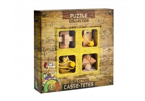 Eureka Expert** - 4 houten breinbrekers in doos