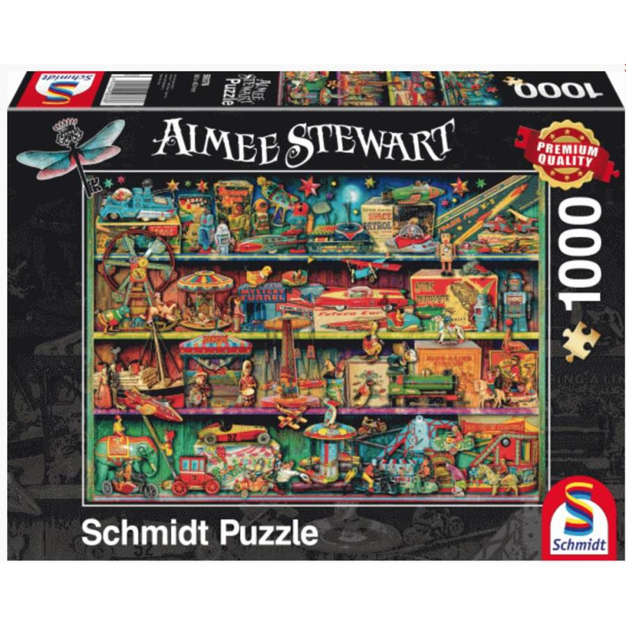 Buying schmidt puzzles attractive prices wide choice puzzles123 the magical world of toys aimee stewart jigsaw puzzle of 1000 pieces gumiabroncs Choice Image
