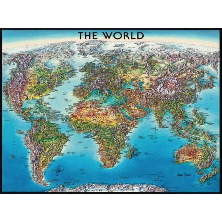 Ravensburger worldmap puzzle of 2000 pieces puzzles123 worldmap puzzle of 2000 pieces 1 gumiabroncs Gallery