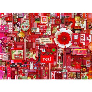Red 1000 Pieces