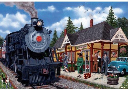 Daar is de trein - 2000 stukjes