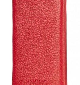 Knomo iPhone Slim Leren Scarlet 5/5s Rood