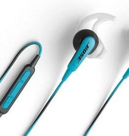 Bose® SoundSport™ in-ear headphones voor geselecteerde Apple-apparaten Blauw