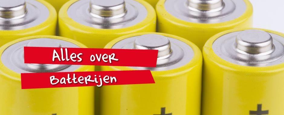 Alles wat u ooit wilde weten over batterijen