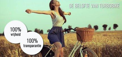 Turbobike, 100% Transparantie, 100% Vrijheid