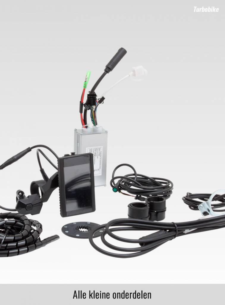 Ombouwset Voorwielmotor 250W-36V inclusief Li-ion batterij
