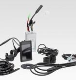 Ombouwset Achterwielmotor 250W-36V inclusief Li-ion batterij