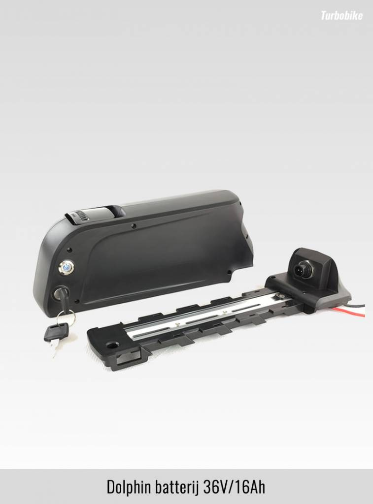 Ombouwset Middenmotor 250W-36V inclusief Li-ion batterij
