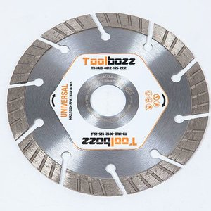 Toolbozz Topline hand diamantzaag droog universeel ø125 mm