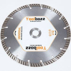 Toolbozz Topline hand diamantzaag droog universeel ø230 mm