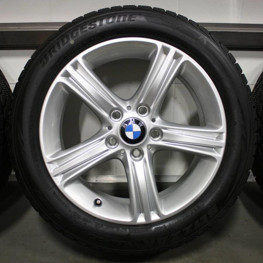 BMW BMW 3 4 serie F30 F32 17 inch 393 velgen + Winterbanden Bridgestone 8MM Runflat origineel