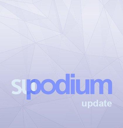 Update naar SU Podium v2.5 Plus