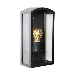 KS verlichting Como RVS Zwart wandlamp