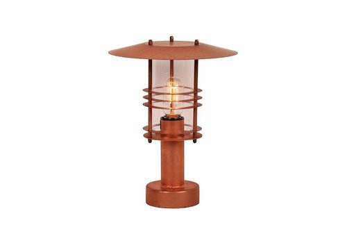 Franssen lage tuinlamp SELVA 3497 Koper 34 cm