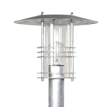 Franssen tuinlamp SELVA 3296 Zink 70 cm