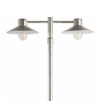 Franssen Hoge tuinlamp SELVA Zink 3746