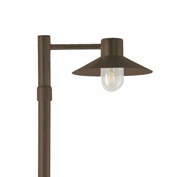 Franssen Hoge tuinlamp SELVA Zwart 3645