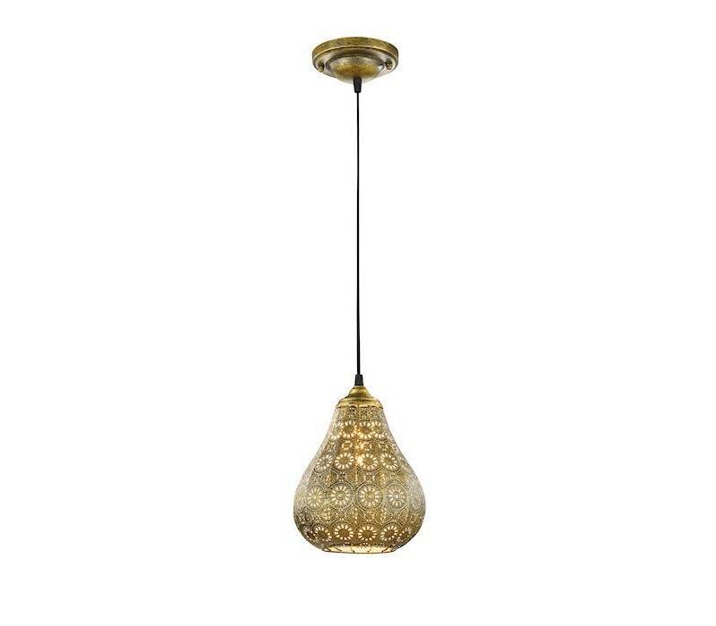 JASMIN hanglamp Oudbrons