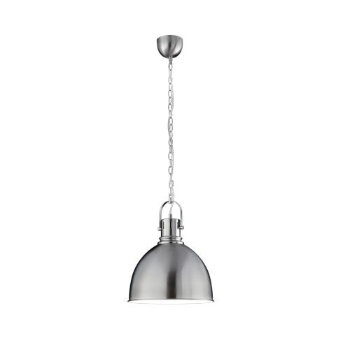 Trio serie 3005 Nikkel industriele hanglamp