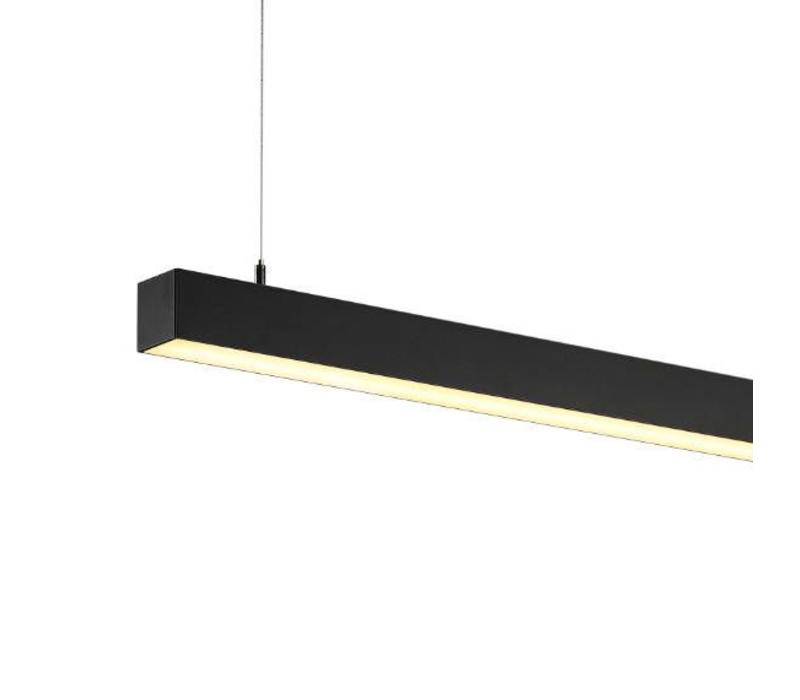 Q-LINE Single LED Zwart hanglamp