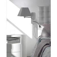 HOTEL V grijs bedlamp