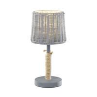 Rotin tafellamp